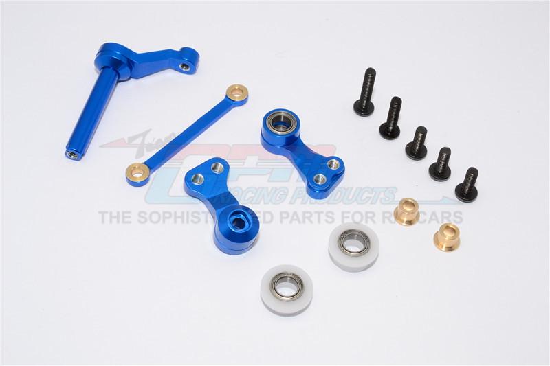 Tie Rod Design with m3 Thread 1pr Set For TAMIYA cc-01 GPM Alloy Upper Bras