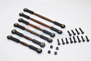 SPRING STEEL ANTI-THREAD TIE ROD  - 6PCS SET - CRA160ST-OC-BEBK