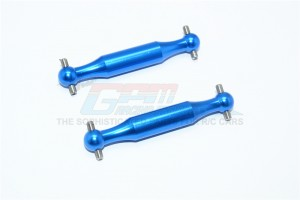 ALUMINUM REAR DOGBONE (POLISHED)-2PC SET - DT3158A-B