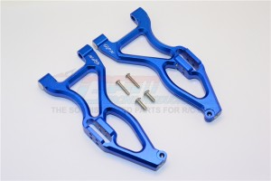 ALLOY FRONT OR REAR LOWER SUSPENSISON ARMS - 4PC SET - E6055F/R-B