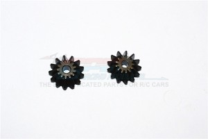 STEEL DIFFERENTIAL SPIDER GEARS - 1PR SET - ER1200S/G2-BK