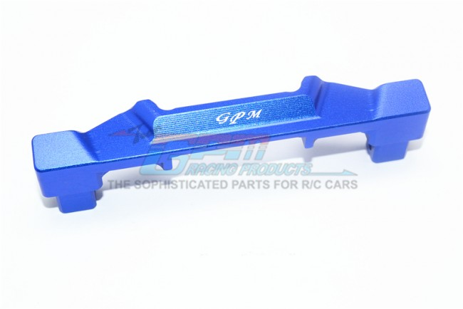 GPM Racing Aluminum Front Body Post Mount-1pc Set Blue