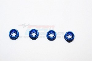 ALLOY COLLARS WITH SEALING RUBBER  WASHERS FOR ERV021 - 4PCS SET - ERV021/A.CO-B