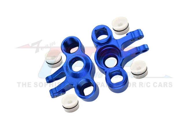 GPM Racing Alloy Front/rear Knuckle Arm - 1pr Set Blue