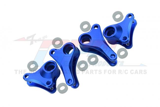 GPM Racing Alloy Front+rear Rocker Arm - 4pcs Set Blue