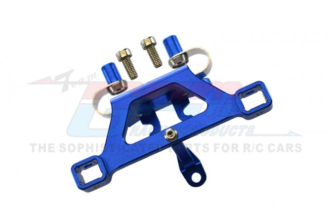 GPM Racing Alloy Front Body Post Mount With Screw  - 1pc Set Blue