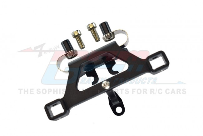 GPM Racing Alloy Front Body Post Mount With Screw  - 1pc Set Black