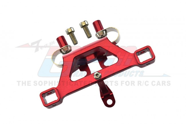 GPM Racing Alloy Front Body Post Mount With Screw  - 1pc Set Red