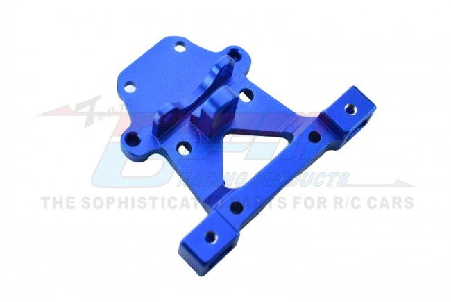 GPM Racing Alloy Rear Body Post Mount - 1pc Blue