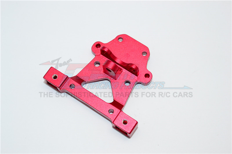 GPM Racing Alloy Rear Body Post Mount - 1pc Red