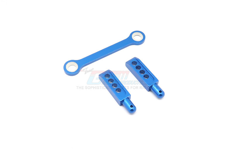 ALLOY REAR BODY POST WITH MOUNT - 3PCS - ERV201R-B