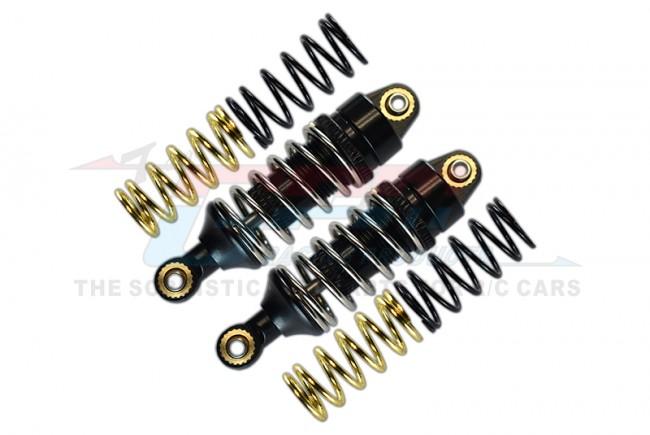 GPM Racing Alloy Ft/rr Adj Spring Damper1.2,1.3&1.4 Coil Spring 1pr Set