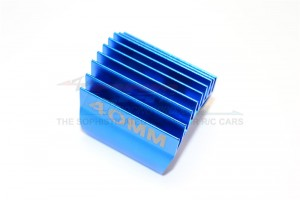 ALUMINIUM MOTOR HEAT SINK MOUNT 40MM FOR 1/10 05, 540, 360 MOTOR- 1PC - GP40-B