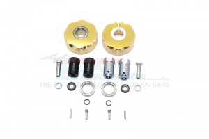 BRASS PENDULUM WHEEL KNUCKLE AXLE WEIGHT + 21MM HEX ADAPTER -20PC SET - GPM023X-OC