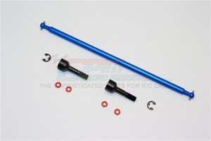 ALUMINIUM MAIN SHAFT WITH HARD STEEL ENDS – 1PC SET (FOR TAMIYA M1025 HUMMER, DF01) - HM1025MN-B