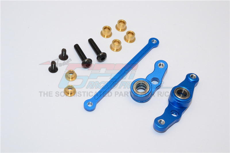 ALUMINIUM STEERING ASSEMBLY - 3PCS SET - HM1048-B