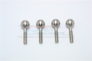 STAINLESS STEEL PILLOW BALL FOR FRONT KNUCKLE ARMS- 4PC SET - KG007SF-OC