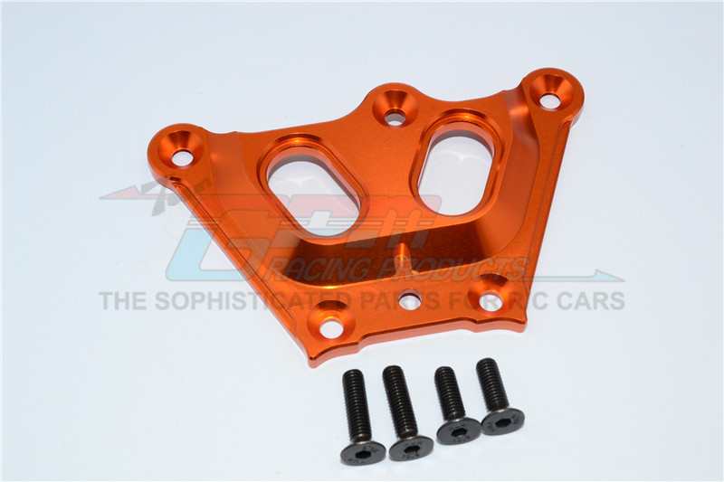 ALLOY 7075 FRONT TOP CHASSIS BRACE - 1PC - LO5T015-OR