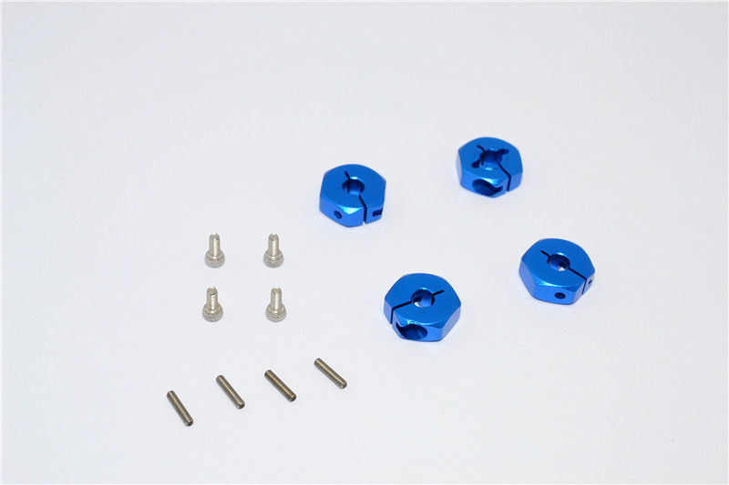 ALLOY HEX ADAPTER - 4PCS SET - M8010-B