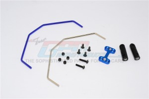 ALLOY+HARD STEEL REAR ANTI-ROLL BAR  - 1SET - M8311R-B-BEBK
