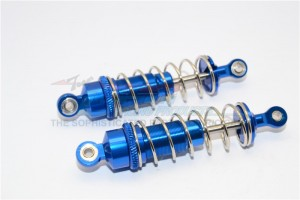 ALLOY REAR ADJUSTABLE SPRING DAMPER  - 1PR - M8373R-B-S