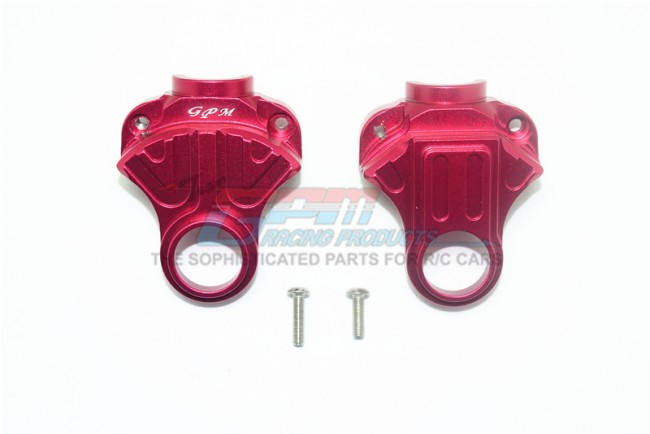 GPM Racing Aluminum Front/rear Differential Yoke -4pc Set Red