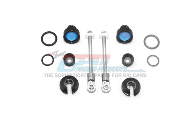 GPM Racing Alloy Rebild Kit For Mag102f Front Damper -20pc Set Black