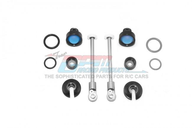 GPM Racing Alloy Rebild Kit For Mag115r Rear Damper -20pc Set Black
