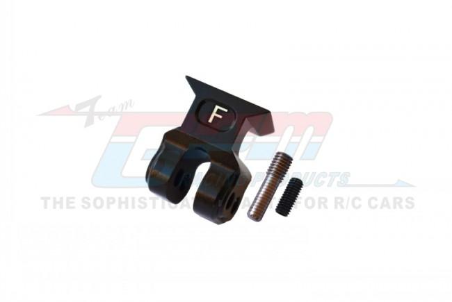 GPM Racing Aluminum Front Suspension Link Stabilizer -3pc Set Black