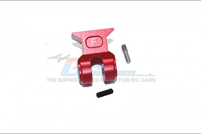 GPM Racing Aluminum Front Suspension Link Stabilizer -3pc Set Red