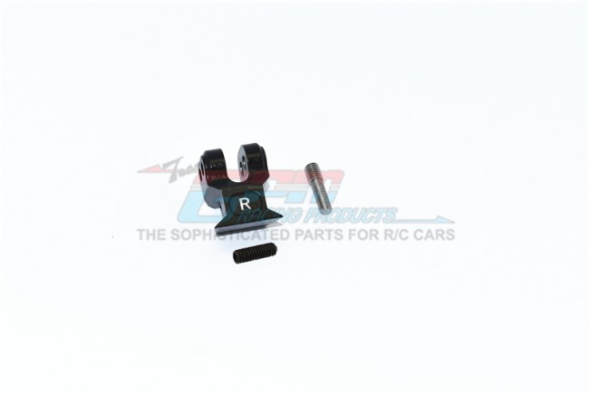 GPM Racing Aluminum Rear Suspension Link Stabilizer -3pc Set Black