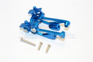 ALLOY REAR WING MOUNT WITH SCREWS  - 5PCS SET - MIF040-B