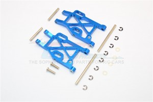 ALLOY REAR LOWER ARM WITH E-CLIPS &  PINS & DELRIN COLLARS - 1PR SET - MIF056-B
