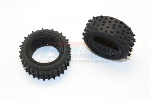 FRONT/REAR RADIAL TIRE WITH INSERT (30G) - 1PR - MIF887F/R30G-OC