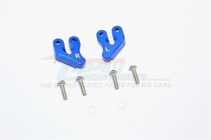 ALUMINIUM REAR SUPPORTING MOUNT - 2PCS SET (FOR SMT10 MONSTER JAM AX90055, AX90057) - MJ009-B