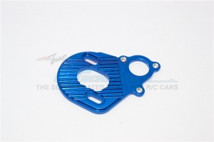 ALUMINIUM MOTOR PLATE FOR AX10  SCORPION - 1PC(FOR SCX10, WRAITH, SMT10 MONSTER JAM AX90055) - MJ018-B