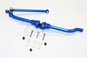 ALUMINIUM ADJUSTABLE STEERING LINK - 2PCS SET (FOR RR10 BOMBER, WRAITH, SMT10 MONSTER JAM AX90055, AX90057) - MJ160N-B
