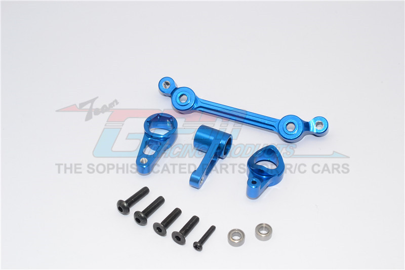 ALLOY STEERING ASSEMBLY WITH BEARINGS  - 4PCS SET - MT8048-B