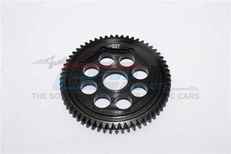 STEEL #45 MAIN GEAR (59T) - 1PC - MT8059TS-BK