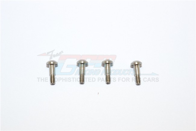 STAINLESS STEEL KINGPINS FOR FRONT C HUBS - 4PC SET	 - MYT004S-OC