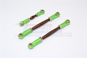 SPRING STEEL TURNBUCKLES WITH ALLOY  BALL ENDS-3PCS SET - RUS160/ST-OC-BEG
