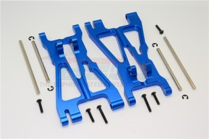 ALLOY FRONT/REAR ADJUSTABLE LOWER ARM WITH SCREWS & PINS & DELRIN COLLARS  - 1PR SET - SAV1055-B