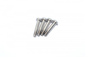 STAINLESS STEEL KINGPIN SCREWS FOR FRONT C HUB AND REAR KNUCKLES-4PC SET - SAVF004S-OC