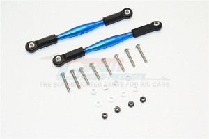 ALUMINIUM FRONT STEERING/REAR SUPPORTING TIE ROD - 2PCS SET - SAVF1049-B-BEBK
