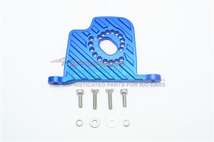 ALUMINUM MOTOR MOUNT PLATE WITH HEAT SINK FINS - 9PC SET - SB018-B