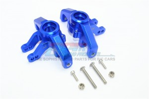 ALUMINUM FRONT KNUCKLE ARMS-8PCS SET 	 - SB021-B