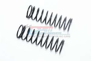 SPARE SPRINGS 2.4MM ( COIL LENGTH ) FOR FRONT SHOCKS (132MM) -2PC SET - SB132F/L/SP-BK