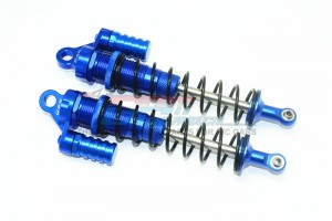 ALUMINUM REAR L-SHAPE SHOCKS (170MM) -2PC SET	 - SB170R/L-B-BK