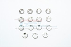STAINLESS STEEL 4MM HOLE CUP SCREW MESON -15PC SET - SC4OD10TK1-OC