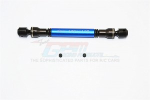STEEL+ALUMINIUM CENTER DRIVE SHAFT (126MM-135MM) - 1PC SET - SCC037SA-B